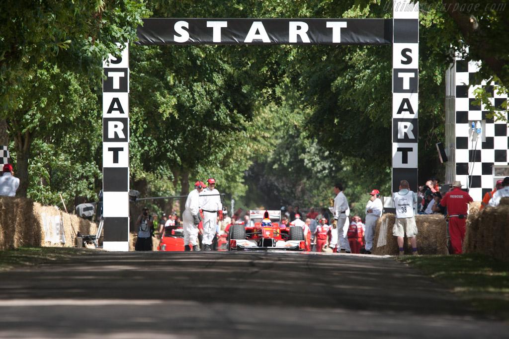 Ferrari F60    - 2010 Goodwood Festival of Speed