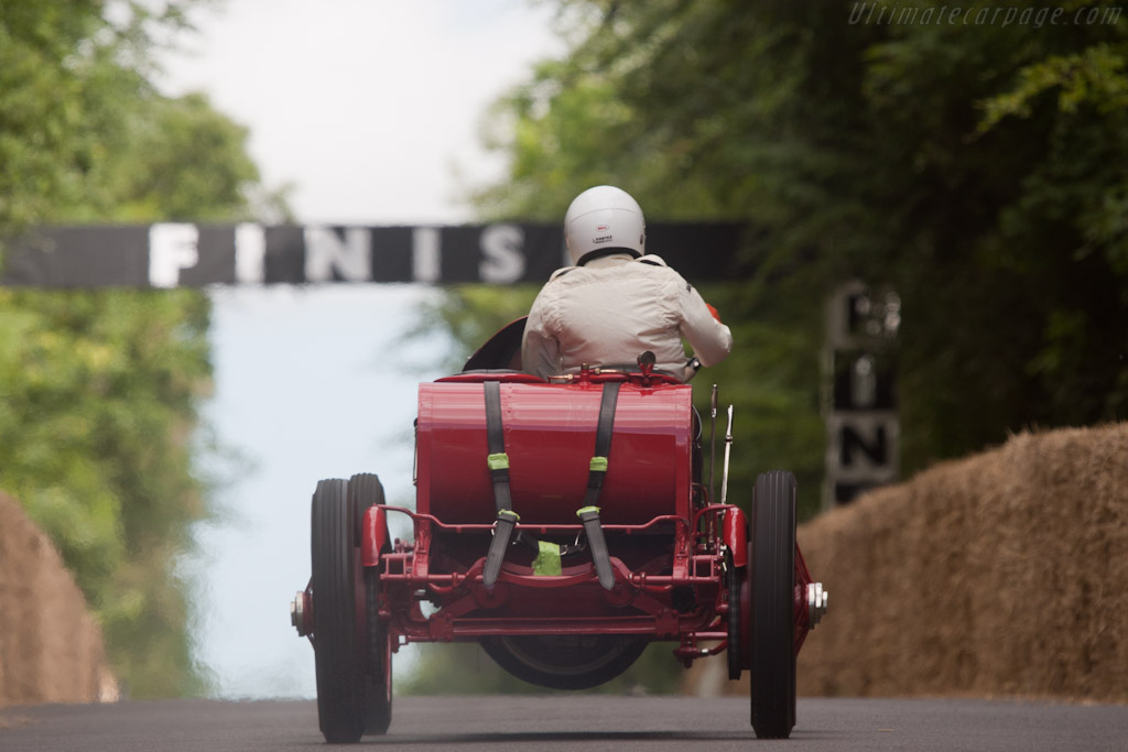 Fiat S74 - Chassis: 1 - Driver: George Wingard - 2010 Goodwood Festival of Speed