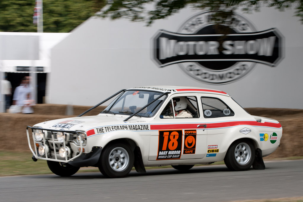 Ford Escort World Cup    - 2010 Goodwood Festival of Speed