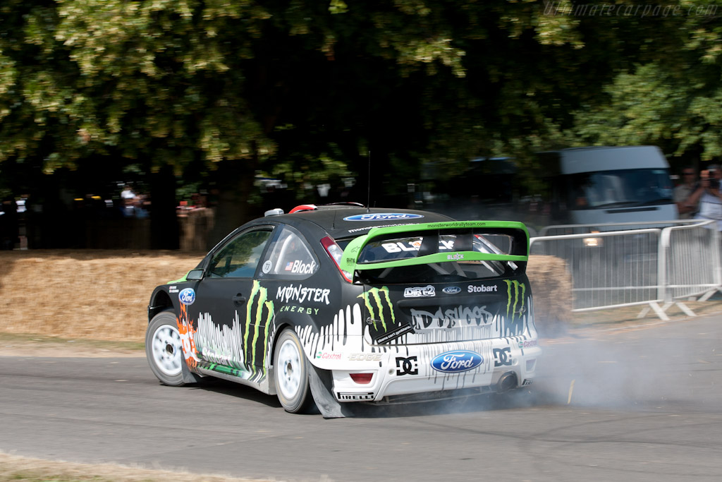 Ford Focus RS WRC    - 2010 Goodwood Festival of Speed