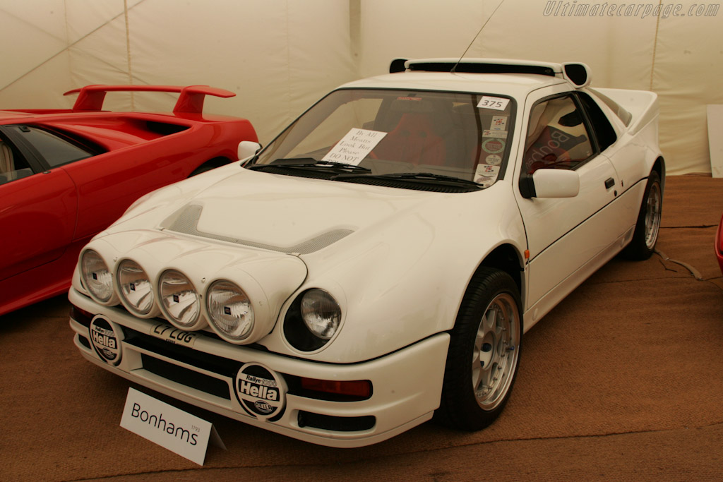 Ford RS200 - Chassis: SFACXXBJ2CGL00194   - 2010 Goodwood Festival of Speed