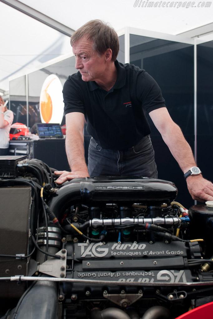 Gerhard Kuechle    - 2010 Goodwood Festival of Speed