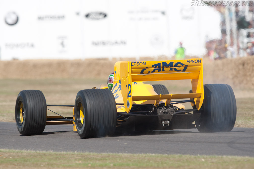 Lotus 101 Judd - Chassis: 101/3  - 2010 Goodwood Festival of Speed