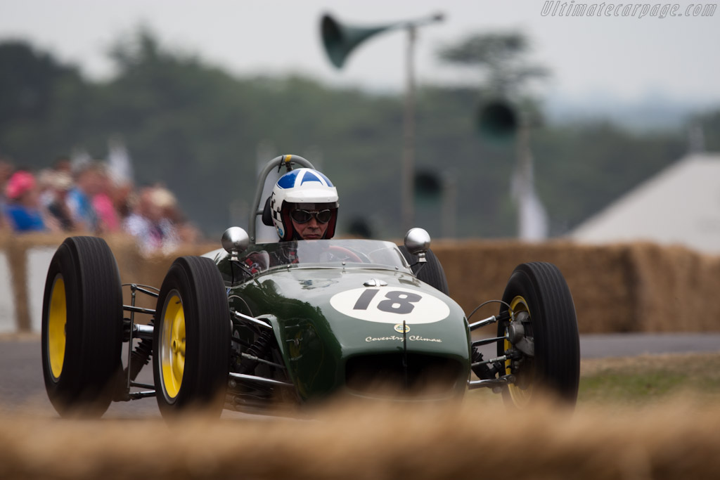 Lotus 18 F1 Climax    - 2010 Goodwood Festival of Speed