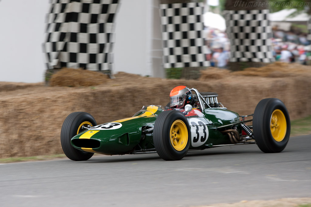 Lotus 33 Climax - Chassis: R10 - Driver: Rick Hall  - 2010 Goodwood Festival of Speed