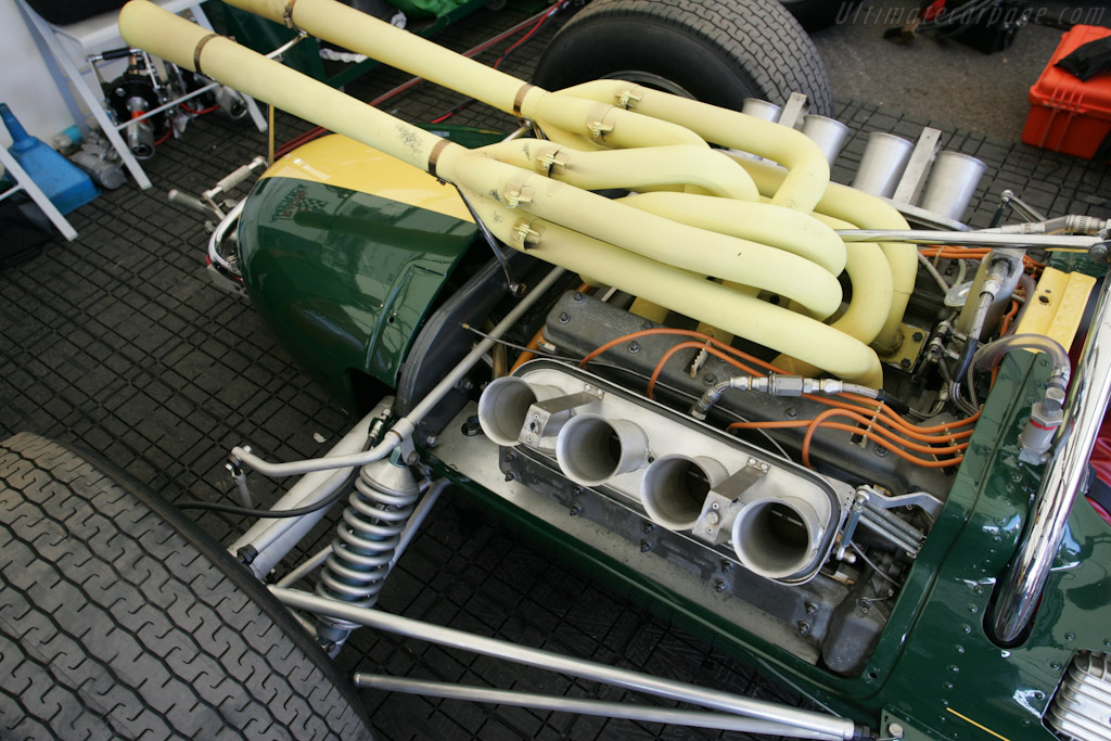 Lotus 38 Ford - Chassis: 38/1 - Entrant: The Henry Ford Museum  - 2010 Goodwood Festival of Speed