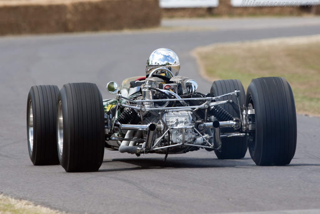 Lotus 49 Cosworth - Chassis: R3   - 2010 Goodwood Festival of Speed