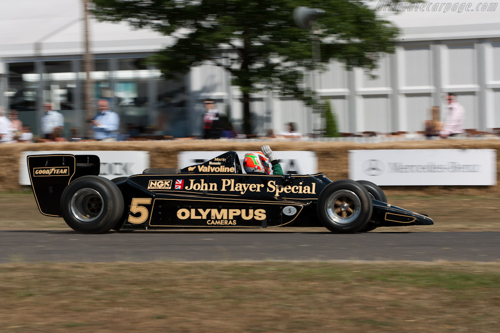 Lotus 79 Cosworth - Chassis: 79/3   - 2010 Goodwood Festival of Speed