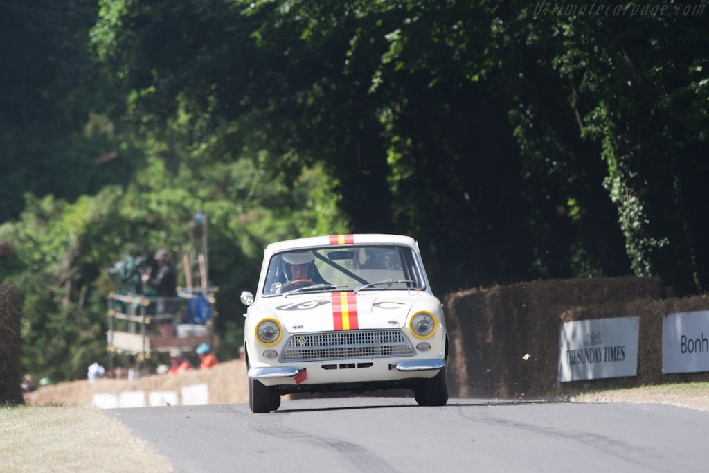 Lotus Cortina    - 2010 Goodwood Festival of Speed