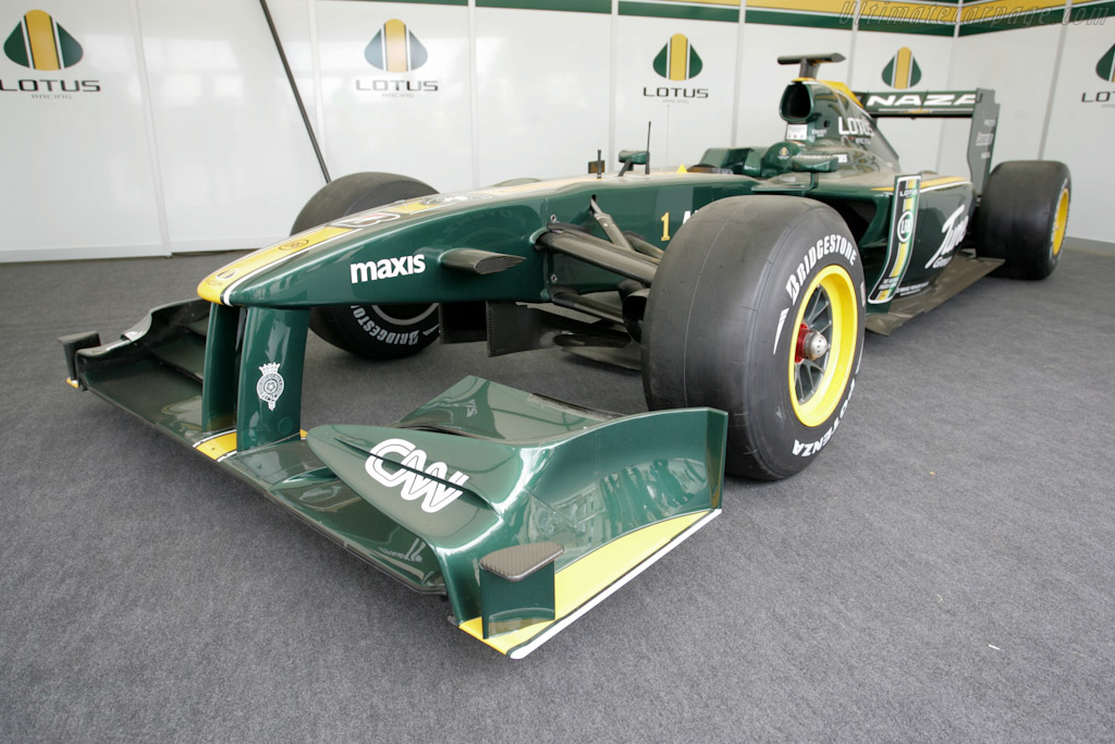 Lotus T127 Cosworth    - 2010 Goodwood Festival of Speed