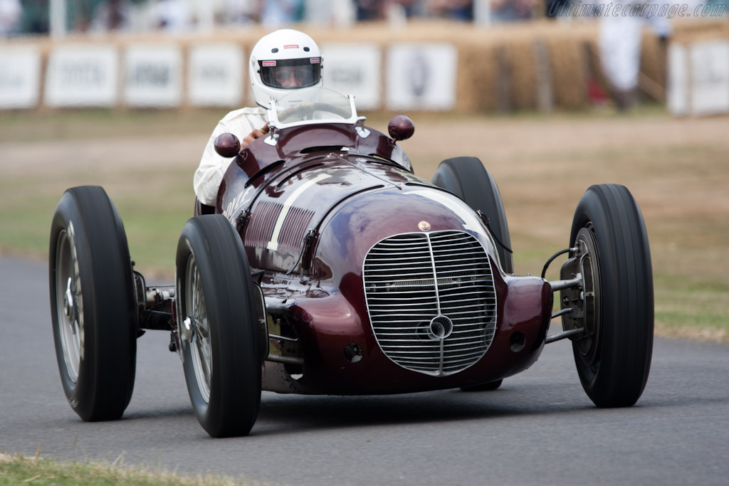 Maserati 8CTF - Chassis: 3032 - Entrant: Indianapolis Motor Speedway Hall of Fame  - 2010 Goodwood Festival of Speed