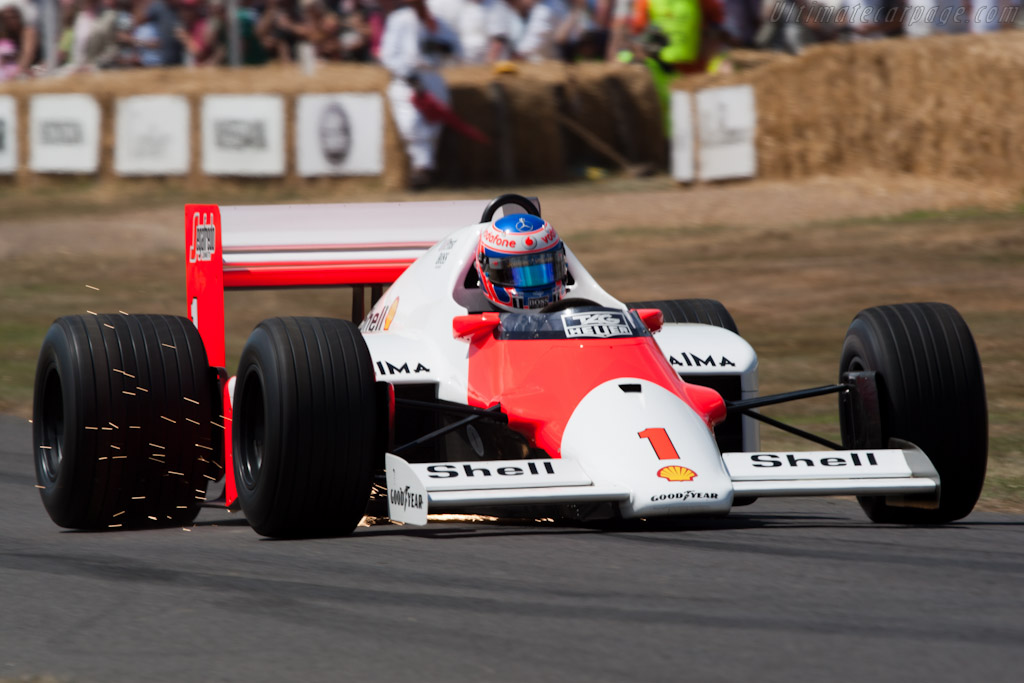 McLaren MP4/2C TAG Porsche - Chassis: MP4/2C-5  - 2010 Goodwood Festival of Speed