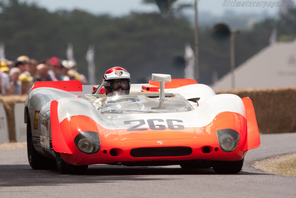 Porsche 908/2 - Chassis: 908/02-006 - Entrant: Porsche Museum - Driver: Vic Elford  - 2010 Goodwood Festival of Speed