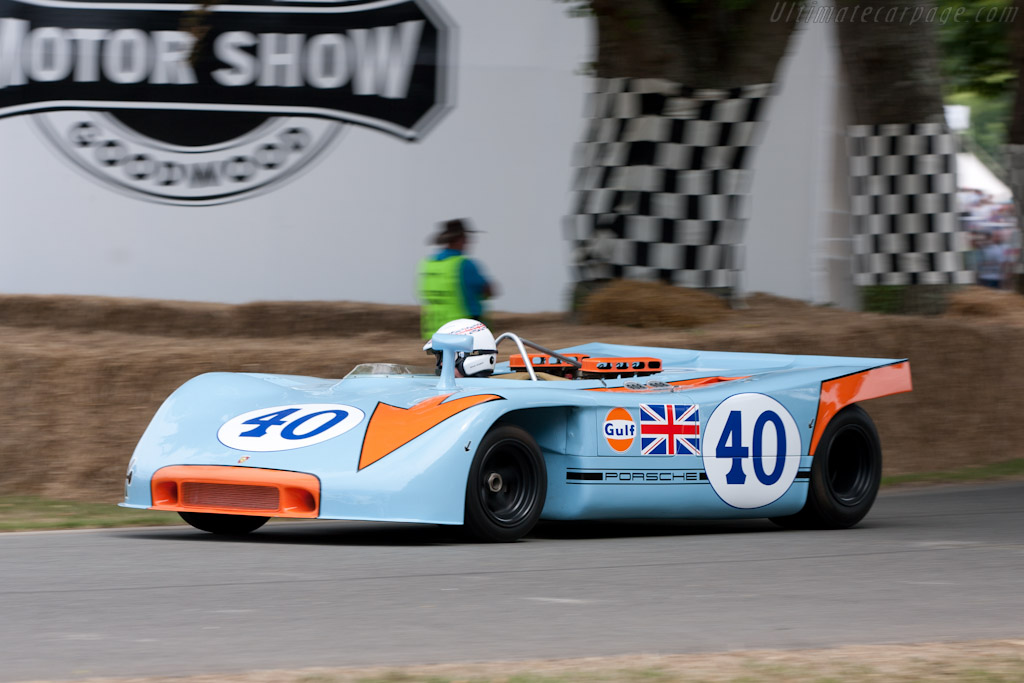 Porsche 908/3 - Chassis: 908/03-009 - Entrant: Porsche Museum - Driver: Richard Attwood  - 2010 Goodwood Festival of Speed