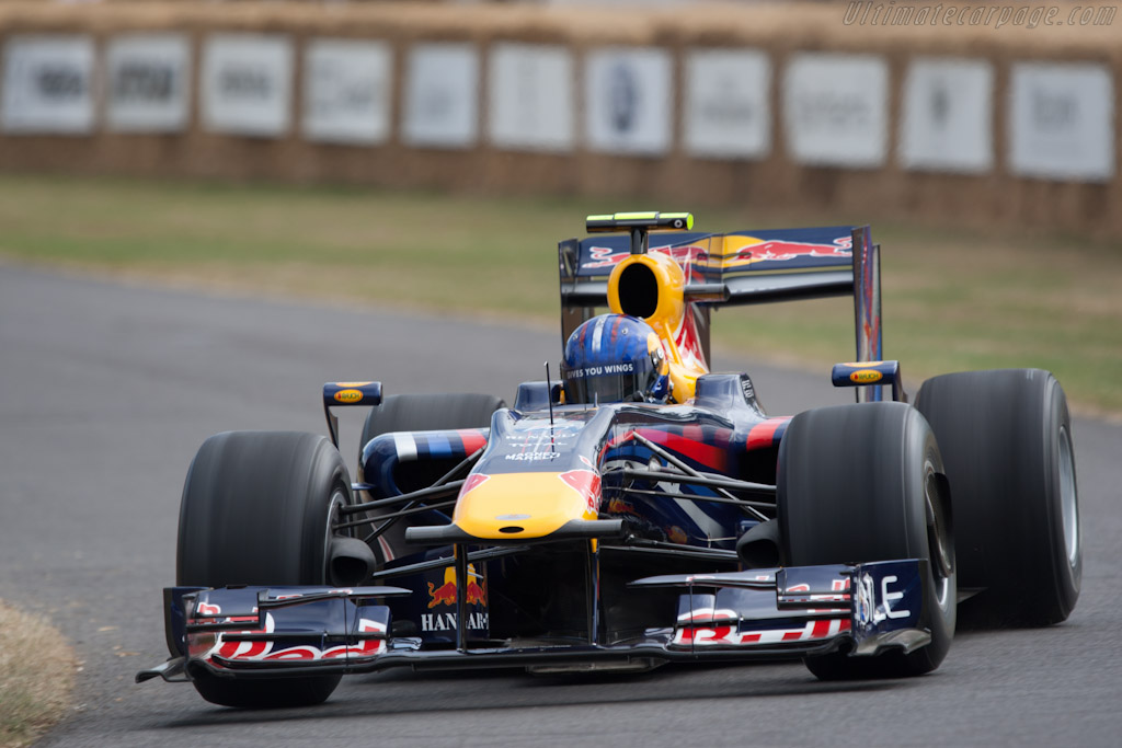Red Bull RB5 Renault    - 2010 Goodwood Festival of Speed