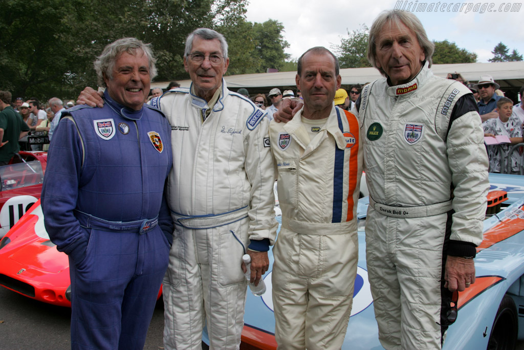 Redman, Elford, Oliver and Bell    - 2010 Goodwood Festival of Speed
