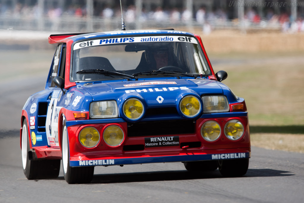Renault 5 Maxi Turbo    - 2010 Goodwood Festival of Speed