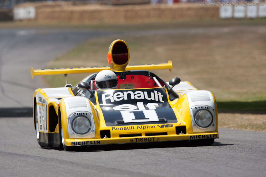 Renault Alpine A443 - Chassis: 443/0   - 2010 Goodwood Festival of Speed