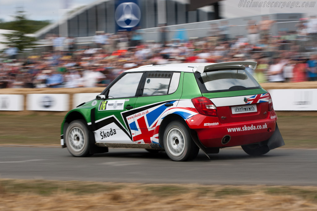 Skoda Fabia S2000    - 2010 Goodwood Festival of Speed