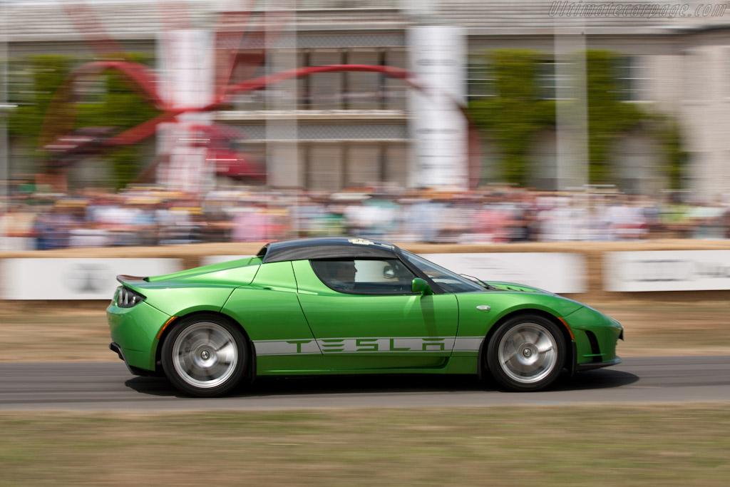 Tesla Roadster Sport    - 2010 Goodwood Festival of Speed