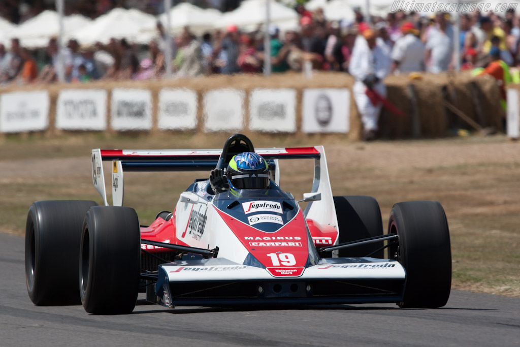 Toleman T183B Hart    - 2010 Goodwood Festival of Speed