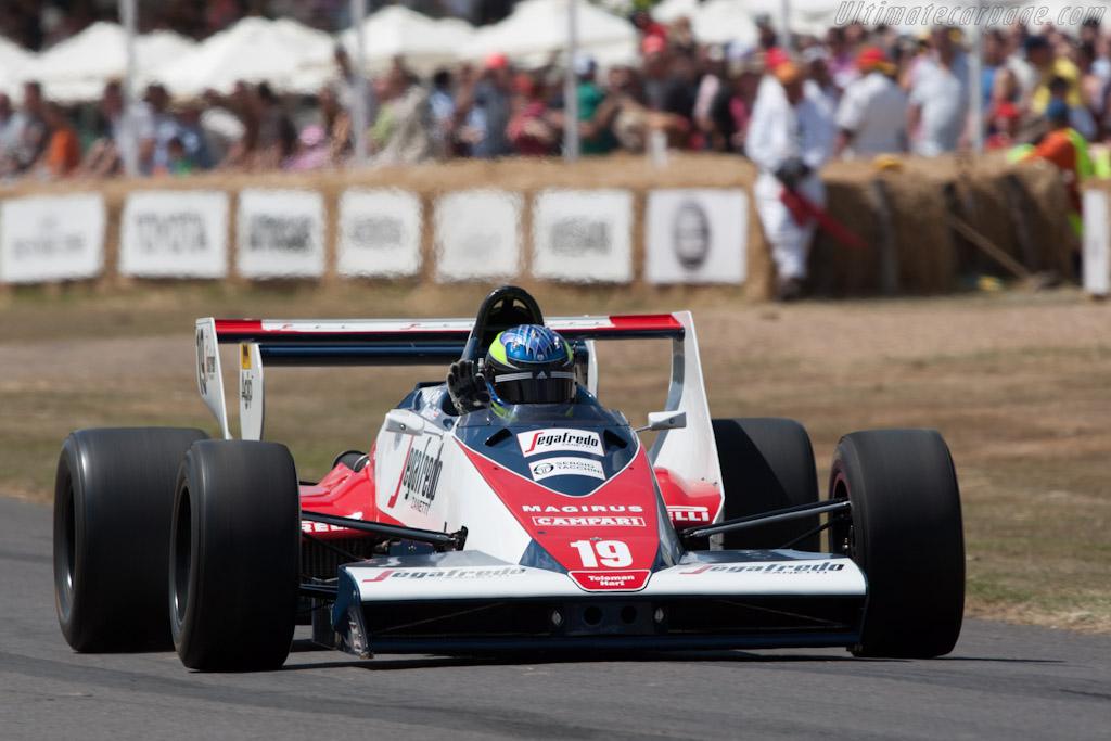 Toleman T183B Hart    - 2010 Goodwood Festival of Speed