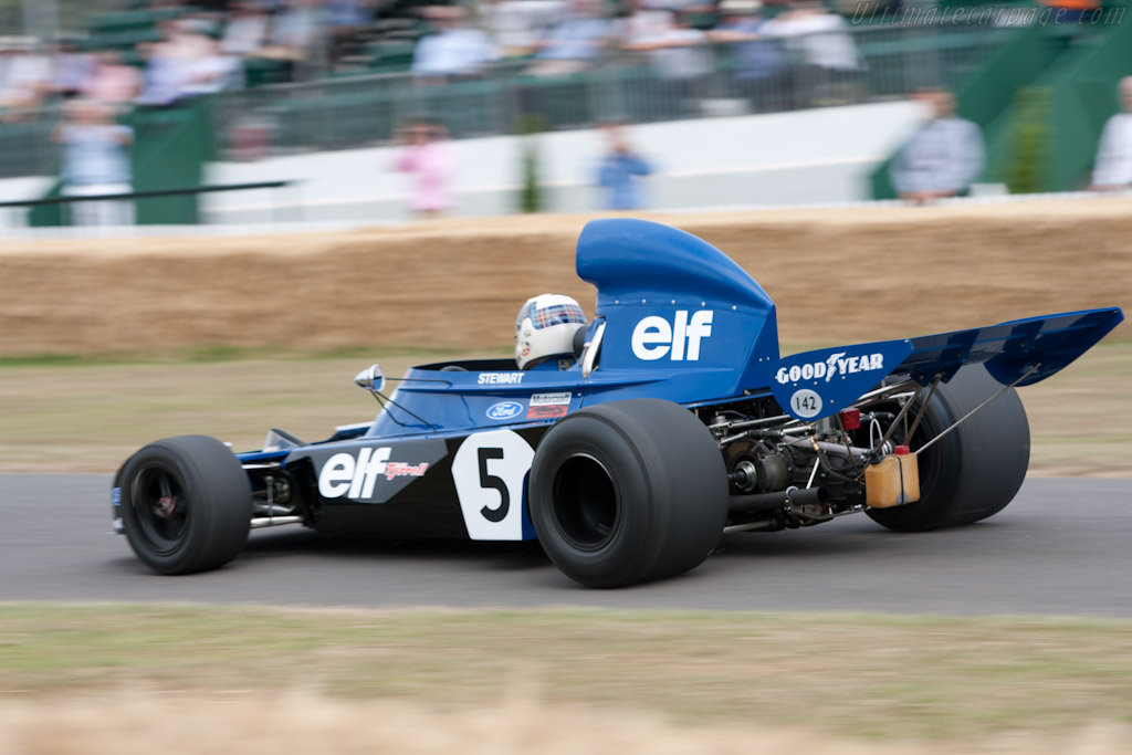 Tyrrell 006 Cosworth - Chassis: 006/2 - Entrant: Mark Stewart  - 2010 Goodwood Festival of Speed