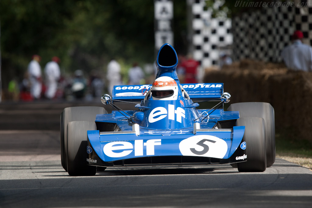 Tyrrell 006 Cosworth - Chassis: 006/2 - Entrant: Sir Jackie Stewart - Driver: Mark Stewart  - 2010 Goodwood Festival of Speed