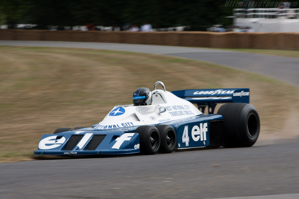 Tyrrell P34 Cosworth - Chassis: P34/2 - Driver: Roger Wills  - 2010 Goodwood Festival of Speed