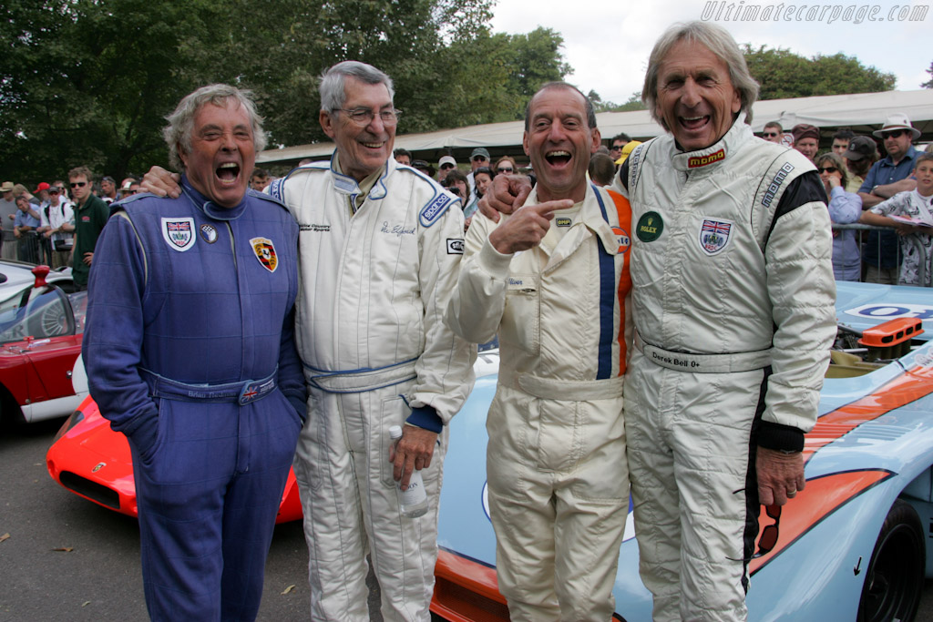 Who's the oldest?    - 2010 Goodwood Festival of Speed