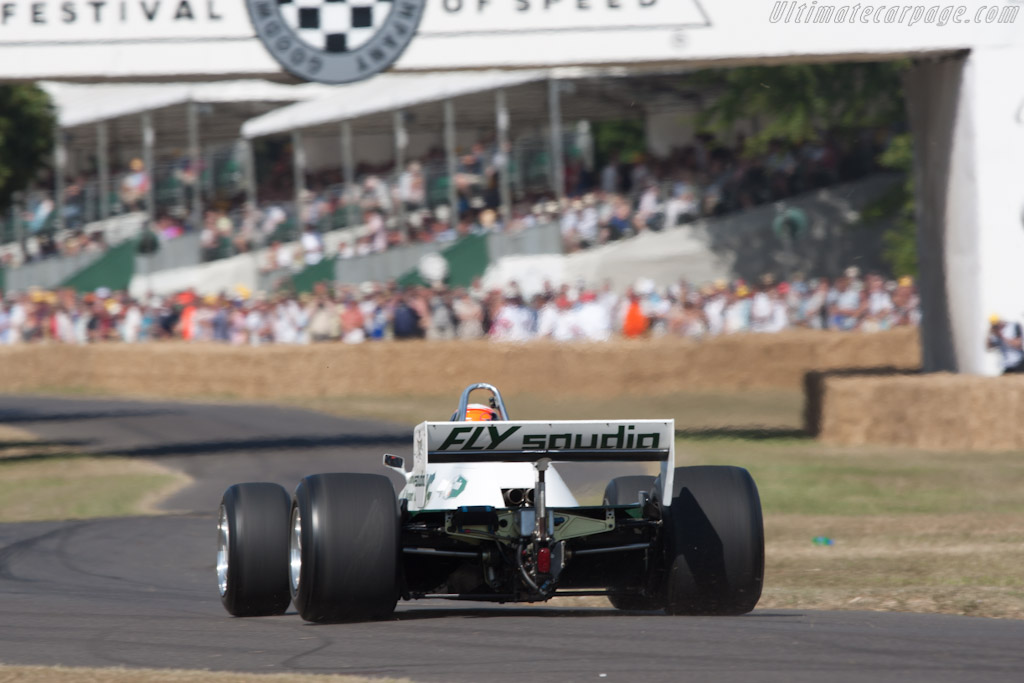Williams FW08 Cosworth - Chassis: FW08-02 - Entrant: Williams F1 - Driver: Karun Chandhok  - 2010 Goodwood Festival of Speed