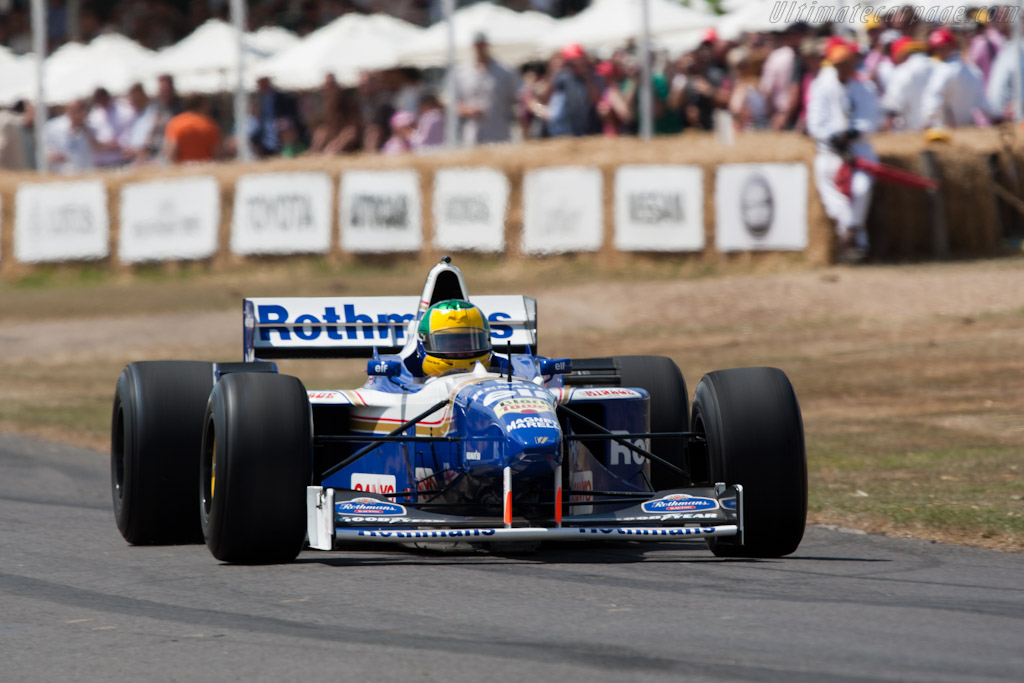 Williams FW18 Renault    - 2010 Goodwood Festival of Speed