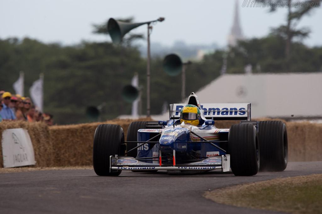 Williams FW18 Renault   - 2010 Goodwood Festival of Speed