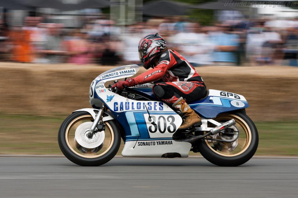 Yamaha TZ750    - 2010 Goodwood Festival of Speed