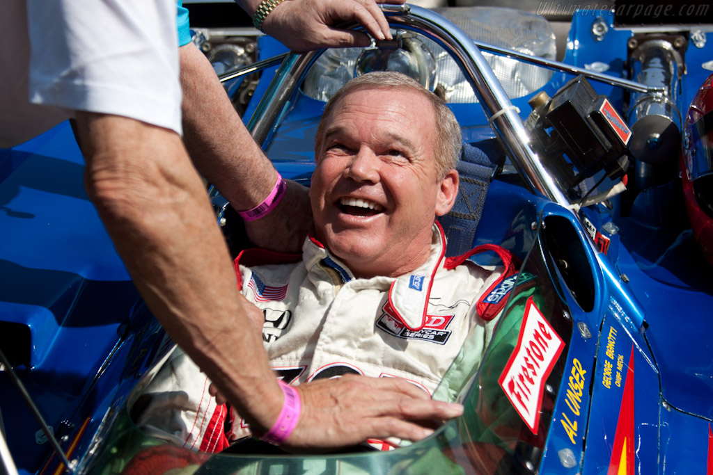 Al Unser Jr.    - 2011 Goodwood Festival of Speed