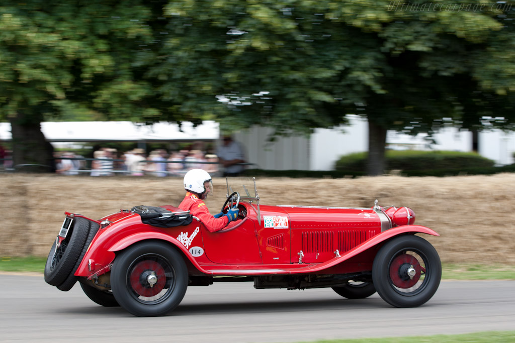 Alfa Romeo 6C 1750 GS Mille Miglia - Chassis: 8513086   - 2011 Goodwood Festival of Speed