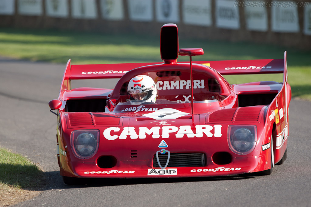 Alfa Romeo Tipo 33 TT 12 - Chassis: AR 11512-006   - 2011 Goodwood Festival of Speed