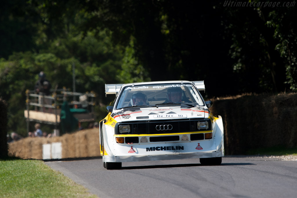 Audi Sport Quattro S1 E2 - Chassis: 85ZGA905002   - 2011 Goodwood Festival of Speed