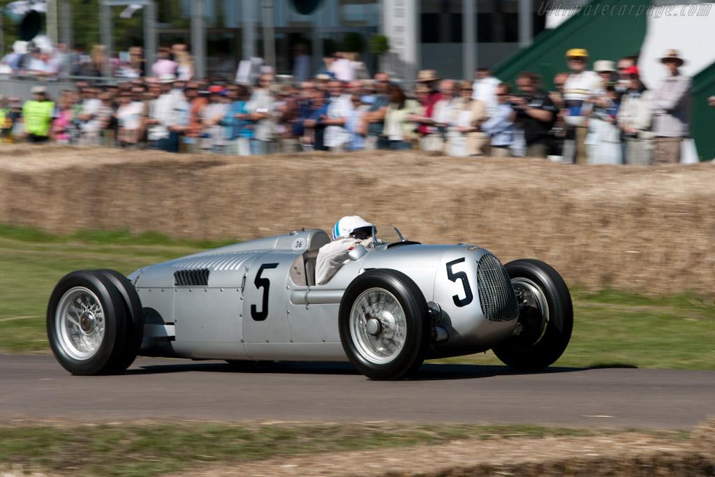 Auto Union Type C    - 2011 Goodwood Festival of Speed