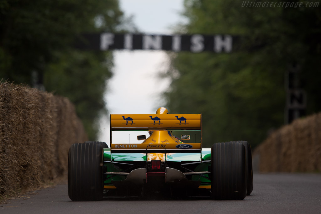 Benetton B193 Ford - Chassis: B193B-04   - 2011 Goodwood Festival of Speed