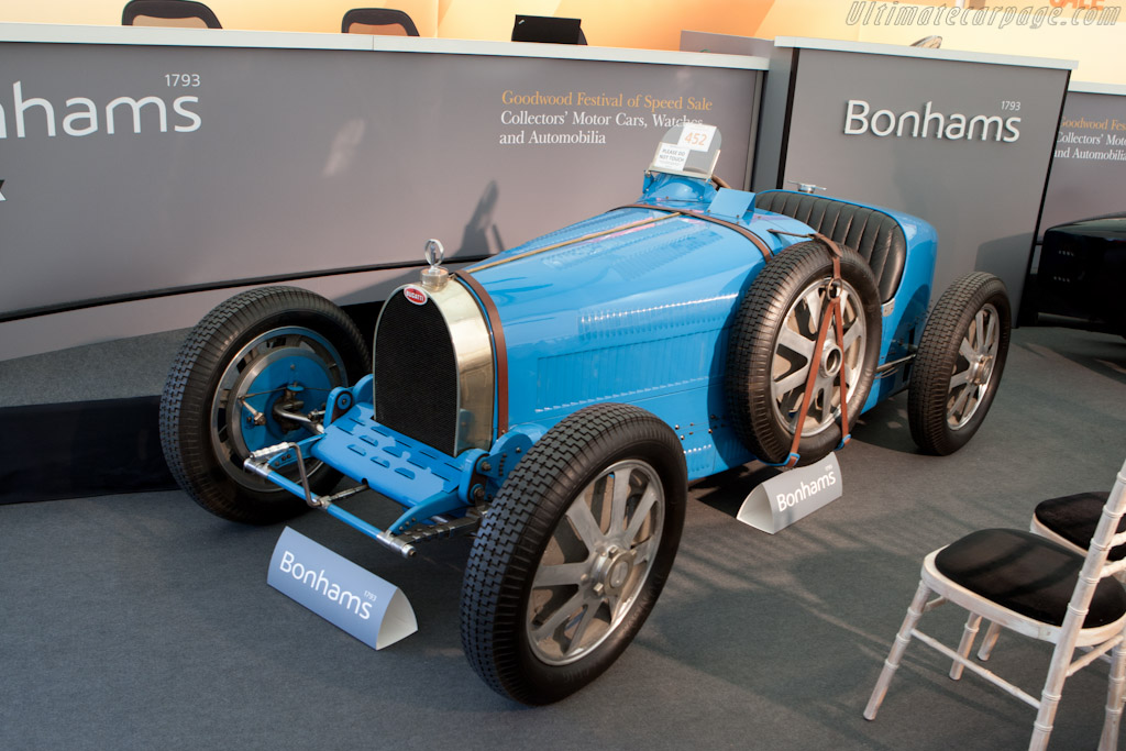 Bugatti Type 35B - Chassis: BC31   - 2011 Goodwood Festival of Speed