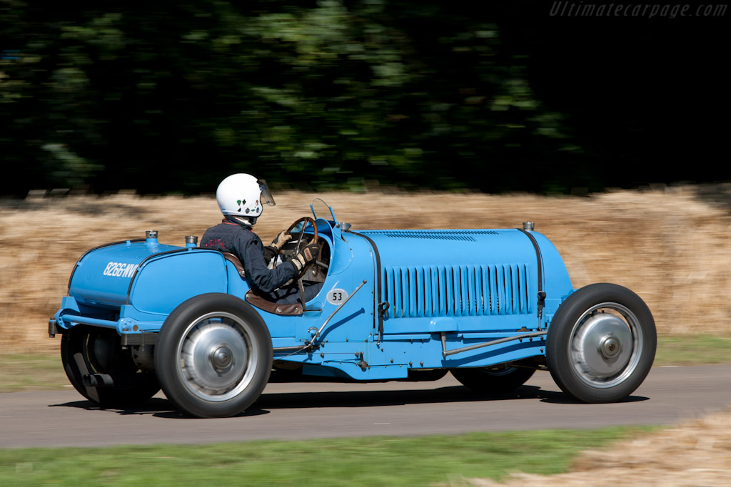 Bugatti Type 53    - 2011 Goodwood Festival of Speed