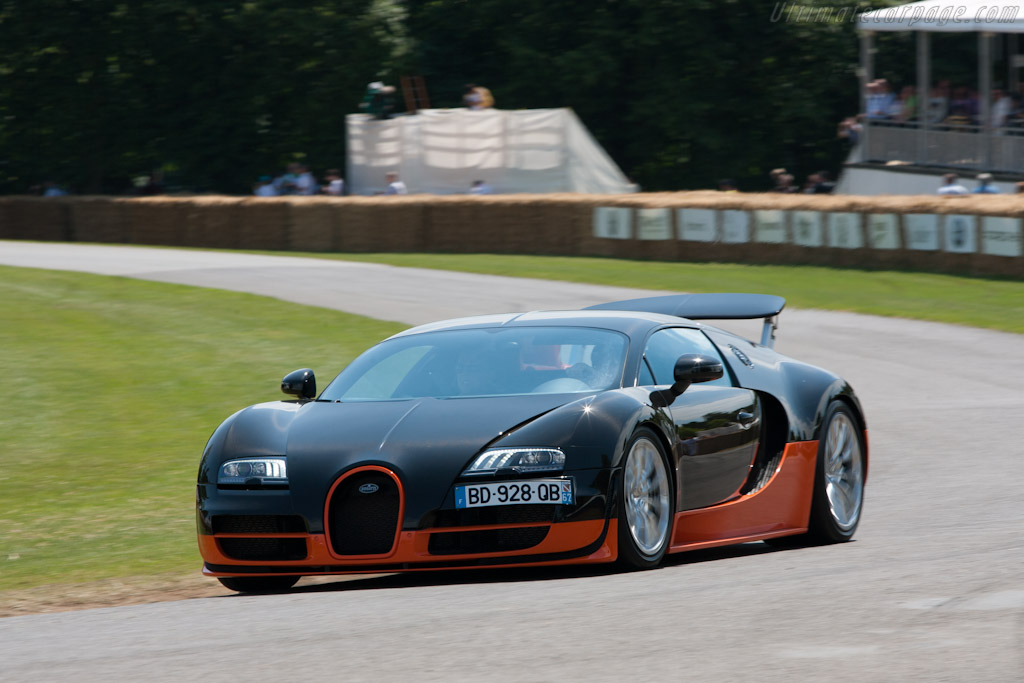 Bugatti Veyron 16.4 Super Sport - Chassis: VF9NG252X1M795023   - 2011 Goodwood Festival of Speed