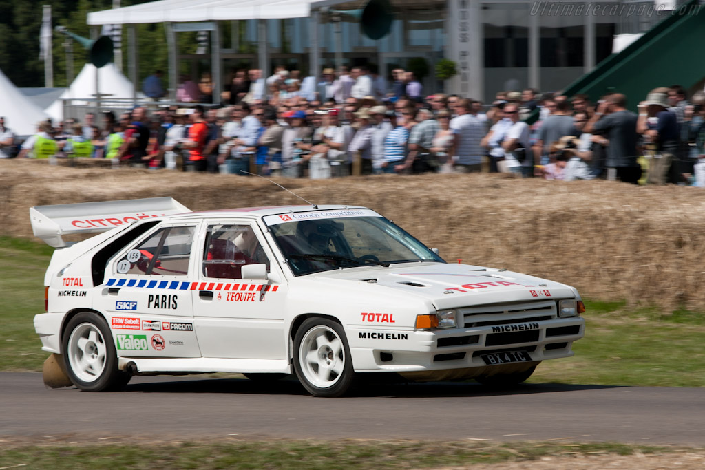 Citroën BX 4 TC    - 2011 Goodwood Festival of Speed