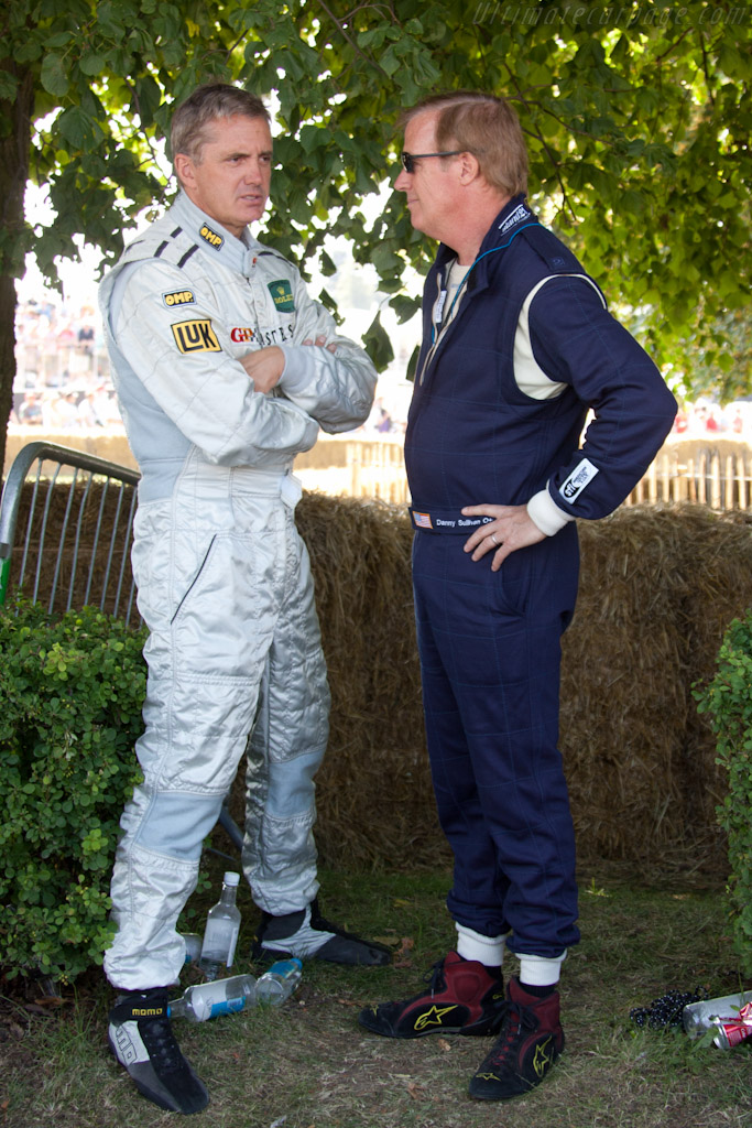Eddy Cheever and Danny Sullivan    - 2011 Goodwood Festival of Speed