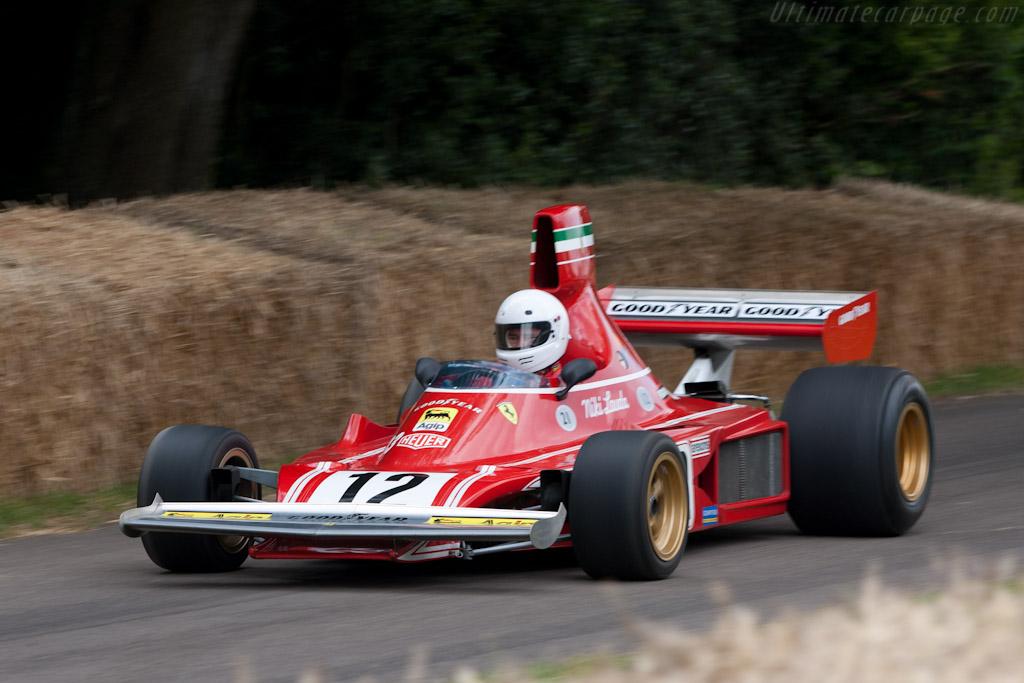Ferrari 312 B3    - 2011 Goodwood Festival of Speed