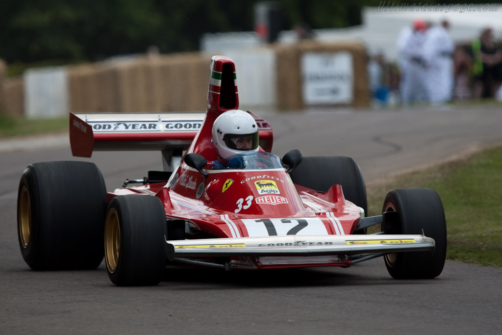 Ferrari 312 B3    - 2011 Goodwood Festival of Speed
