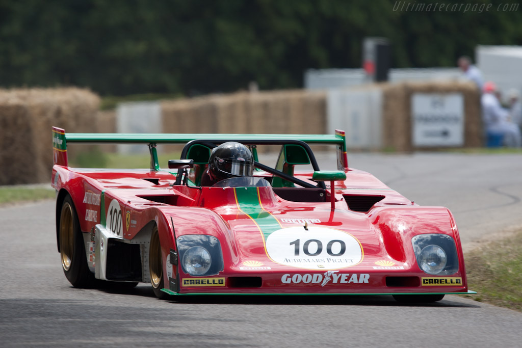 Ferrari 312 PB - Chassis: 0890 - Driver: Paul Knapfield  - 2011 Goodwood Festival of Speed