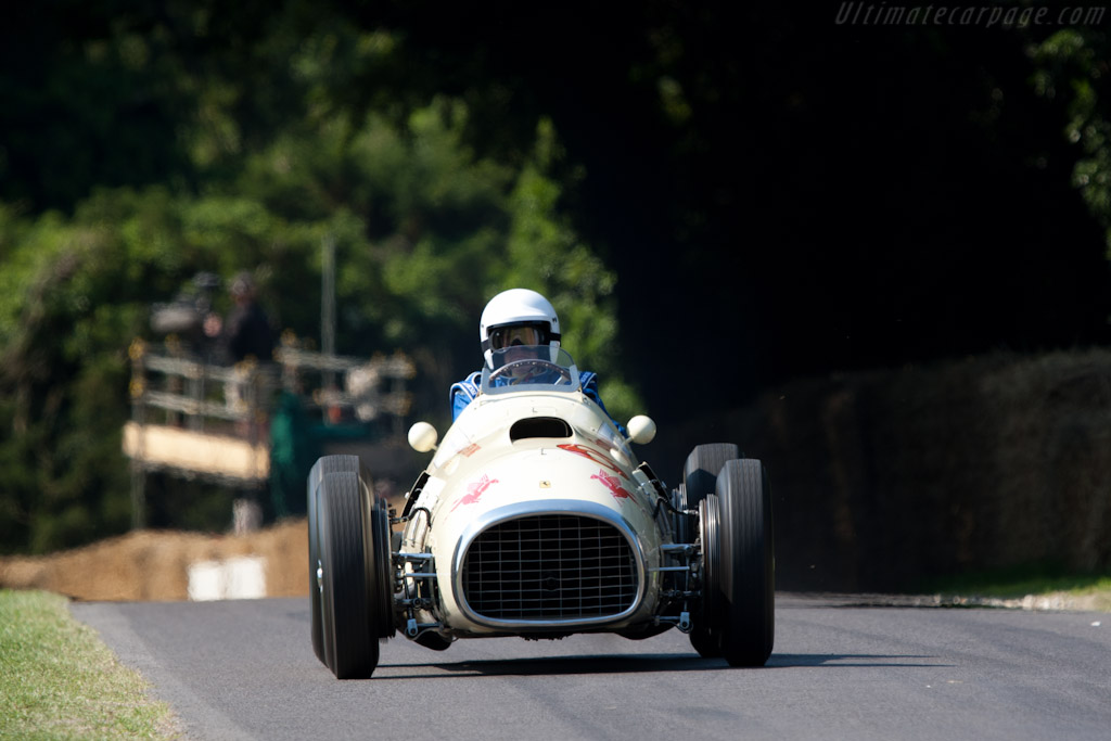 Ferrari 375 Indy Grant Piston Ring Special - Chassis: 02 - Entrant: The Louwman Museum - 2011 Goodwood Festival of Speed