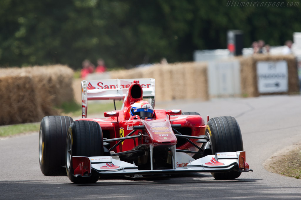 Ferrari F10    - 2011 Goodwood Festival of Speed